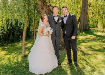 Hochzeitsredner Martin Fett hält die Hochzeitsrede auf der Hochzeit von Daniel und Kristina Davari_02