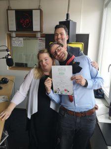 Trauredner Experte Martin Fett verheiratet Morningshow Moderatoren bei Radio Erft in einer Freien Trauung in Wesseling bei Köln 01