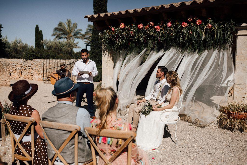 Freie Trauung Mallorca Hochzeit im Ausland mit martinredet