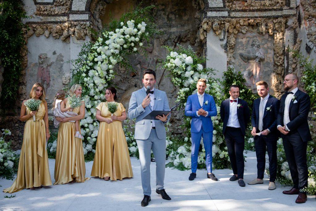 Trauredner Toskana Hochzeit in Italien martinredet Martin Fett Freie Trauung Hochzeitsredner Redner NRW Köln Moderator