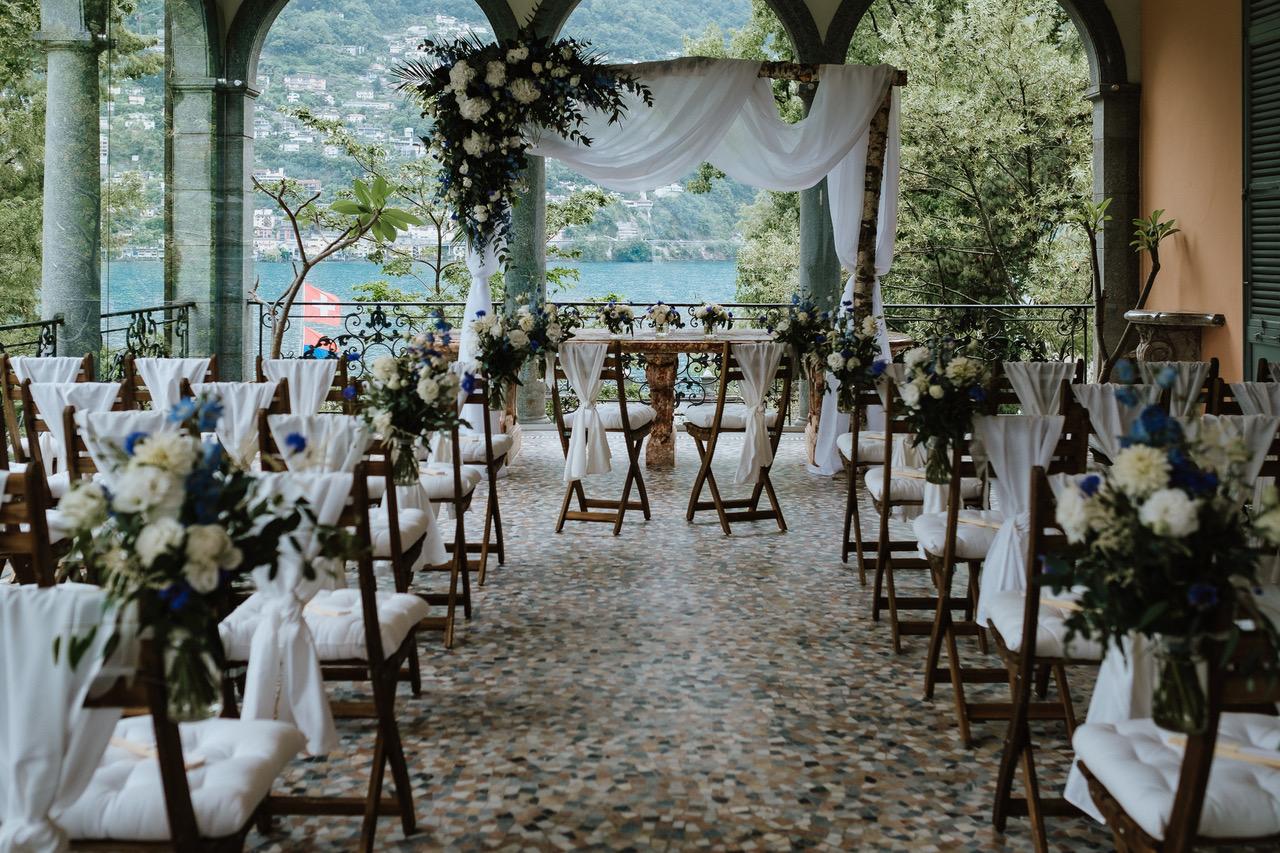 Hochzeit Brissago Inseln Italien Lugano Freie Trauung Schweiz martinredet