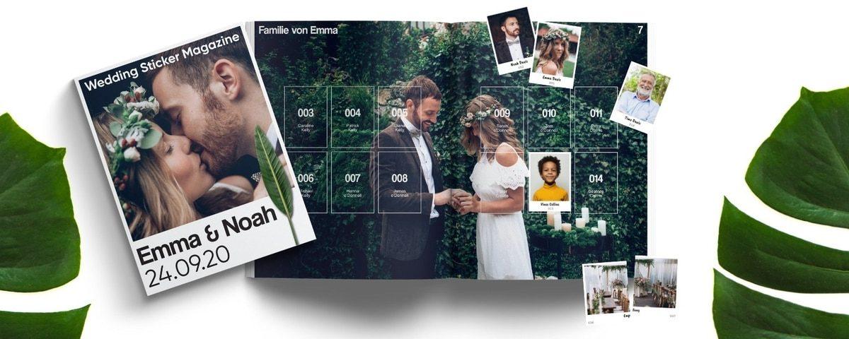 Gastgeschenke für Eure Hochzeit martinredet trifft Stickerstars