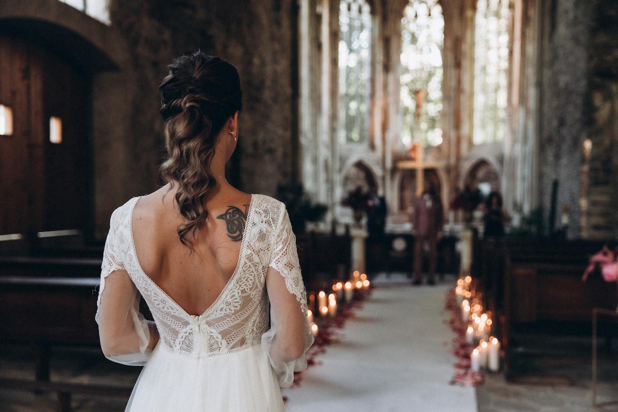 Hochzeit Neuwied in alter Kirche Abtei Kloster
