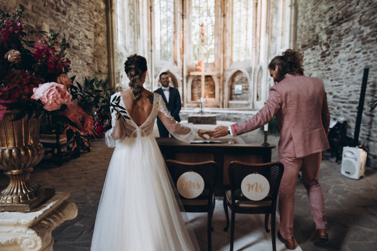 Kirchliche Hochzeit oder Freie Trauung im Kloster martinredet
