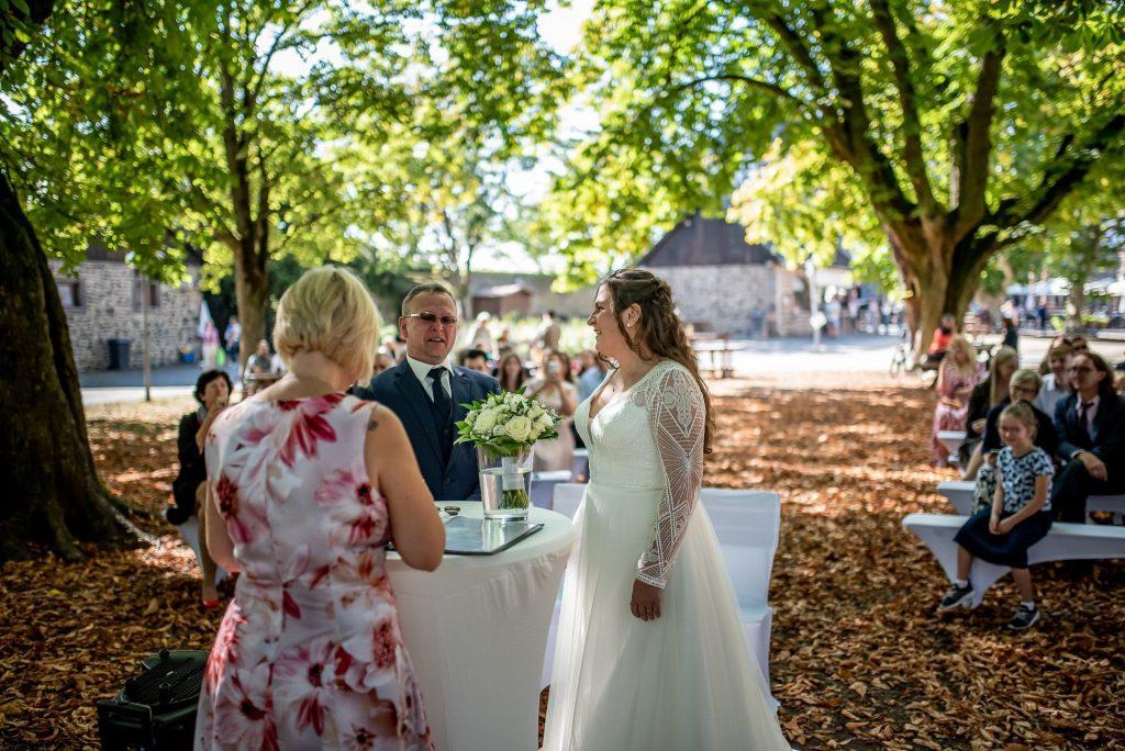 Traurednerin Much Freie Trauung NRW martinredet Hochzeitsredner Martin Sonja im Team Hochzeitsredner Ausbildung